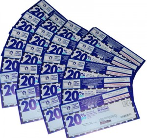 20 coupon 300x282 Lets go spend some money